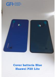 Cover batteria Blue Huawei P20 Lite