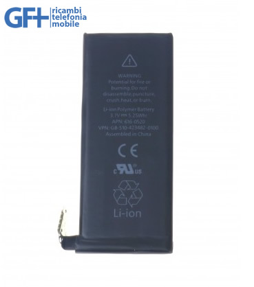 0616-0520 Batteria per iPhone 4 1420mAh 3,7V