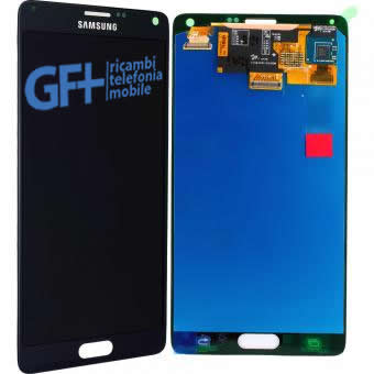 LCD Display NERO Completo Samsung Galaxy Note 4 SM-N910F