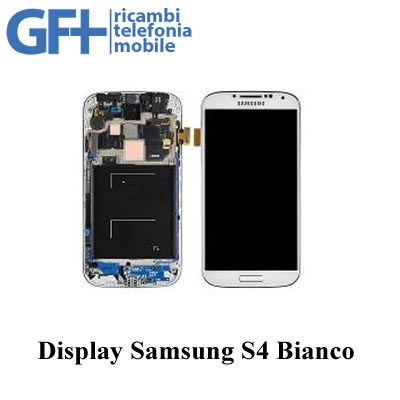 LCD Display Completo BIANCO Samsung Galaxy S4 GT-I9505