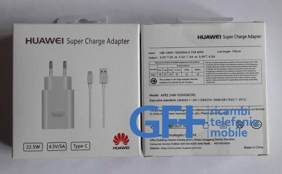 Super Charge Adapter Huawei Type C